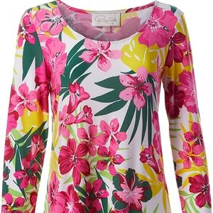NWT! Pappagallo The Erin Dress Floral Pattern